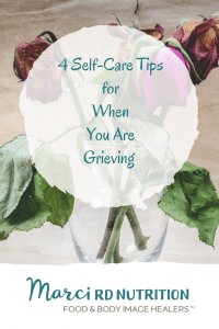 4 tips for self-care during time of grief.