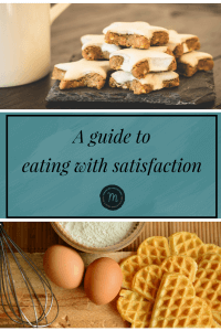 How to start eating with satisfaction. Stabilize your relationship with food.