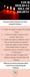 Self-care through the holidays can help you feel peace. Check out these self-care tips.