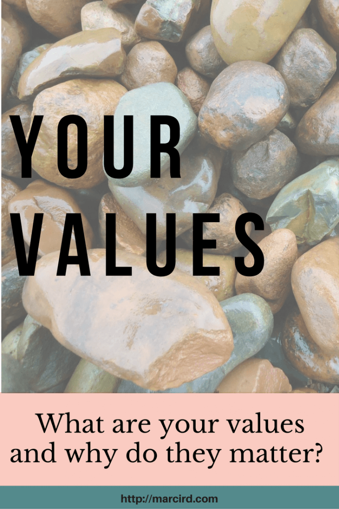 Living out of alignment with your core values is can cause pain and suffering. Core values blog post shares how to complete a values-based assessment.