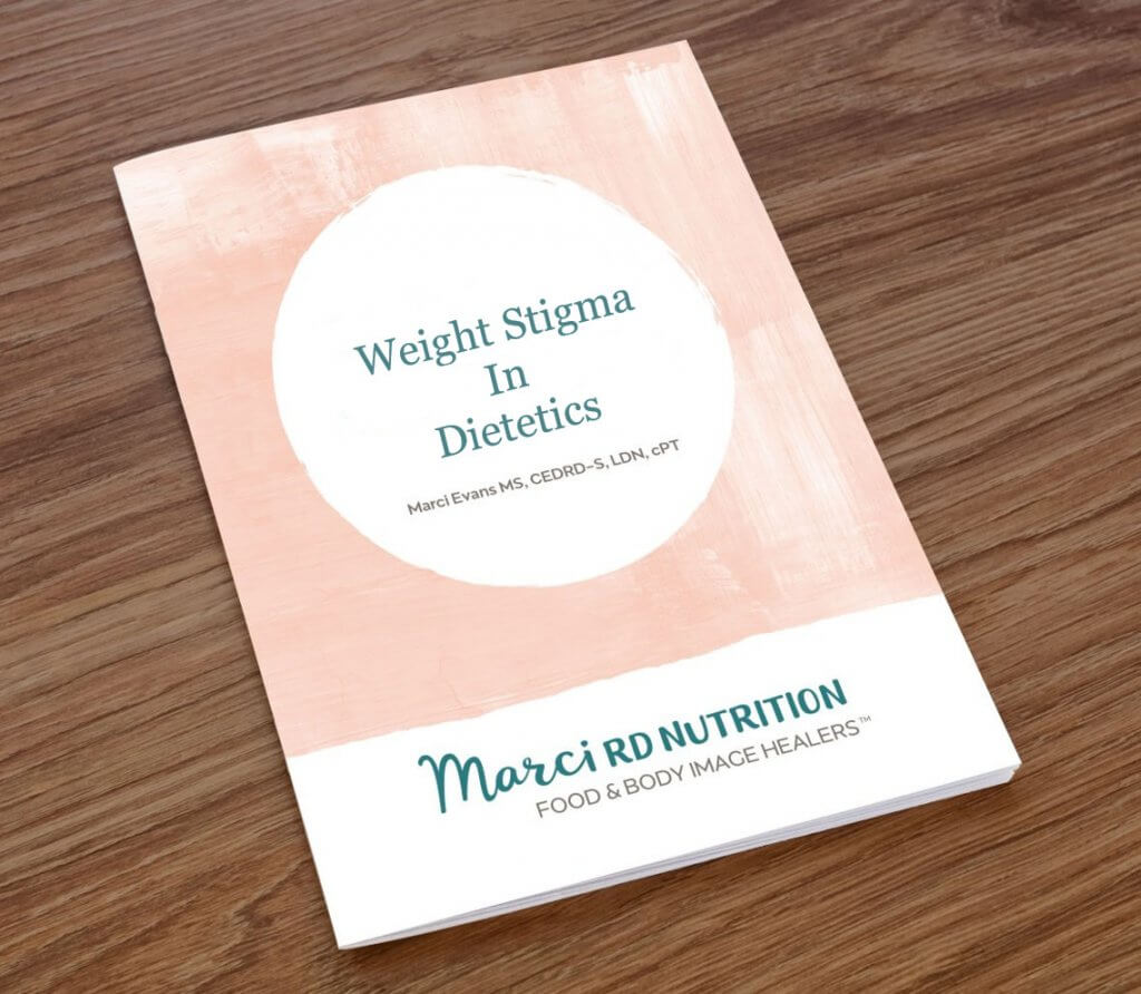 Weight Stigma in Dietetics Practice