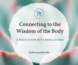 Connecting to the Wisdom of the Body
