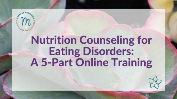 nutrition counseling for eating disorders for dietitians