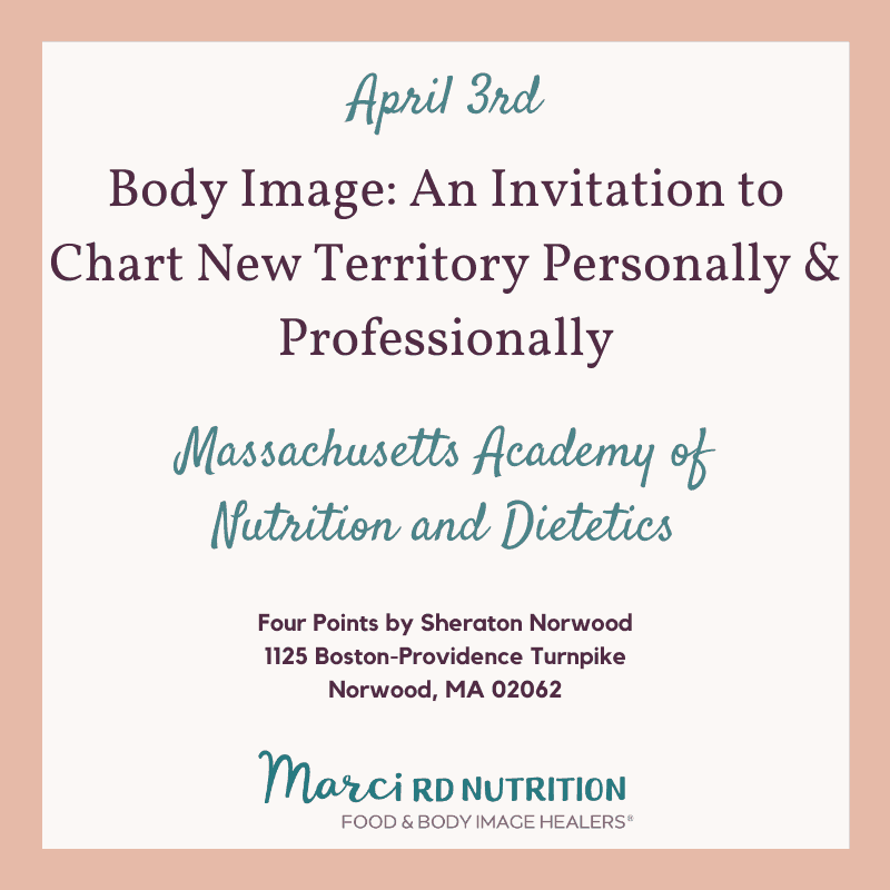 boston body image speaking event